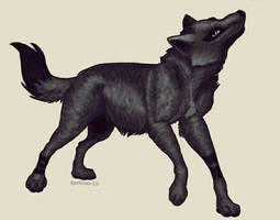 Wolf  by moemoe232