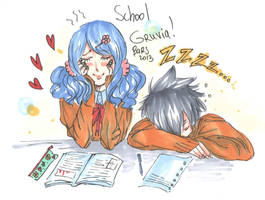 1Day - SchoolGruvia by BarsOrigami