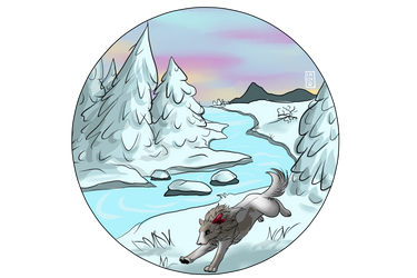 Snowy Forest by IronclawsAndPaws