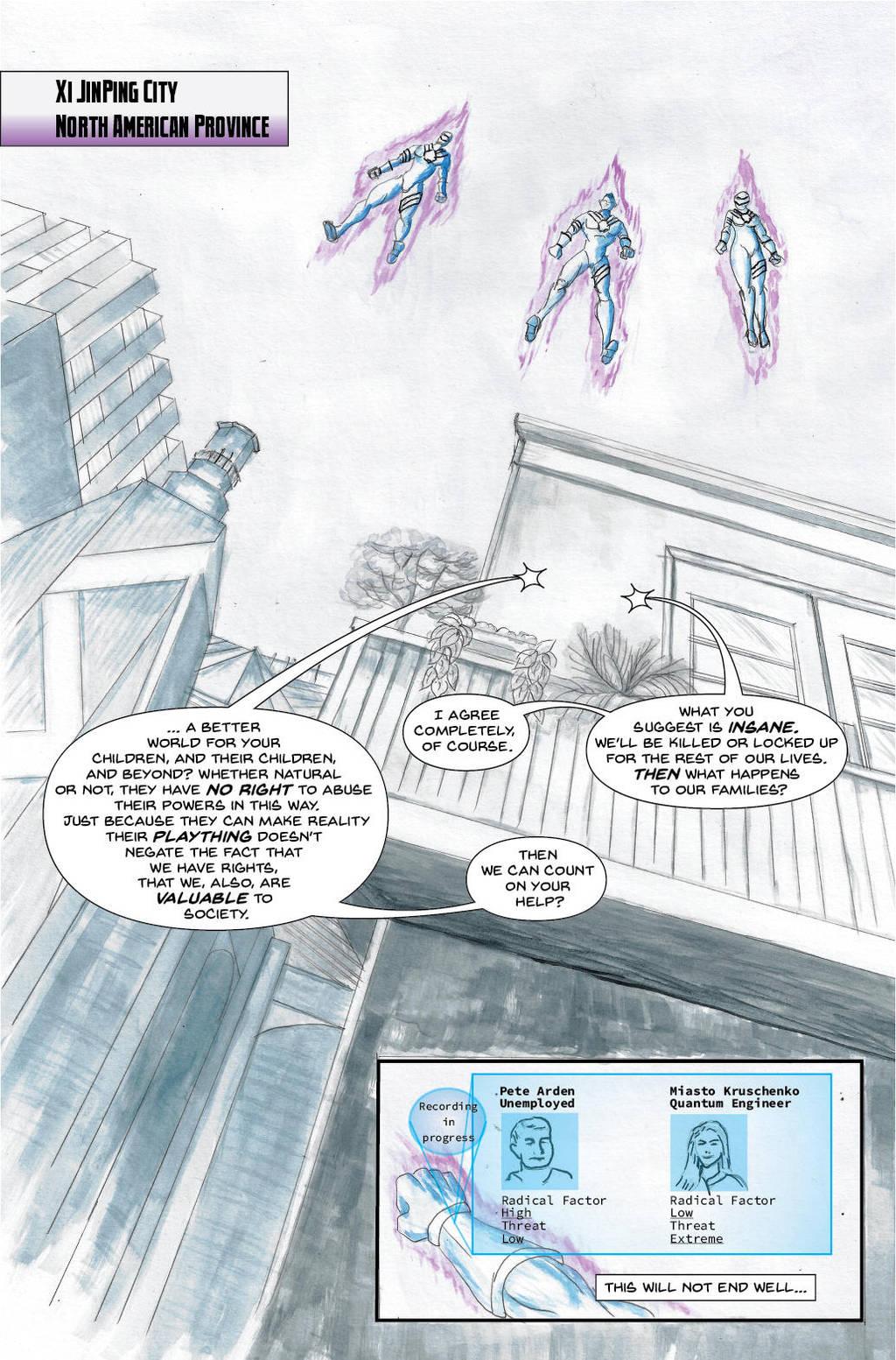 Lavender Menace, Episode 1, Page 8 by lavendertiger