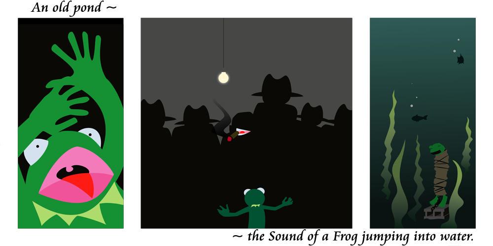 Froggie Haiku by bonermcweiner