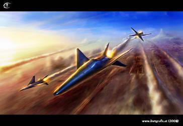 'dusk flight' by inetgrafx