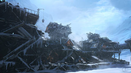 Concept: Snow Slum by inetgrafx