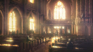 Speedpaint: Church Interior by inetgrafx