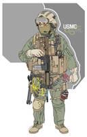 USMC M.E.F. by linmonkon
