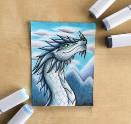 Mountain Dragon Design by Artistlizard101