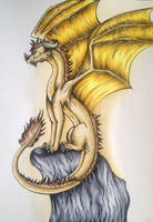 Sun Dragon by Artistlizard101