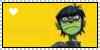 :heart: Murdoc Stamp by Tcho-San