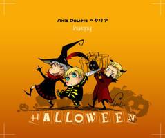 Phto X 3 halloween by heliooooo