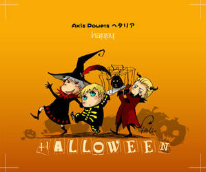 Phto X 3 halloween by heliooooo