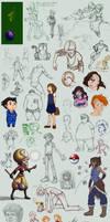 Doodle Dump by Prodigious-Girl