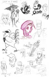 Sketch bomb Seattle by Prodigious-Girl