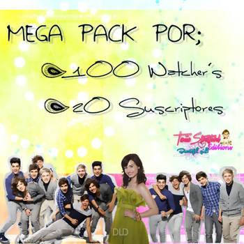 Mega Pack 1OO Watcher's + 2O Suscriptores. by TaniiaStratford