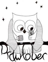 Drawtober Day#03: Night Owl by Acedragon2000