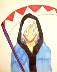 Drawtober Day#07: 'Grin' Reaper by Acedragon2000