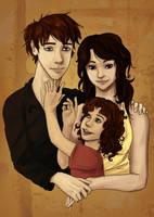 Family by silveraaki