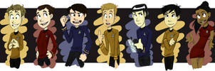 The Enterprise's Motley Crew by silveraaki