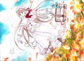 watercolor kobato by Gret-chu