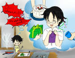 happy birthday watanuki by Gret-chu