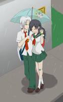 2 under the rain by Gret-chu