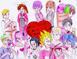 Feliz dia del amor y la amista by Gret-chu