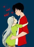 Kiss kiss by Gret-chu