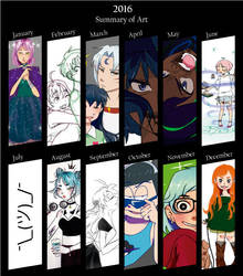 2016 summary art by Gret-chu