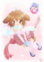 Doggirl and Catgirl by azfla-neko