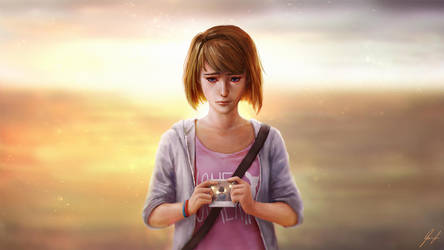 Life is Strange - Max (cont.) by cheesewoo