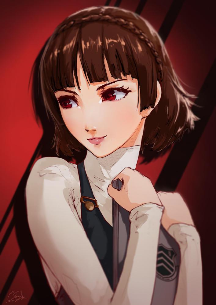 Makoto Niijima - Persona 5 by cheesewoo