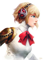 Aigis - Persona 3 by cheesewoo