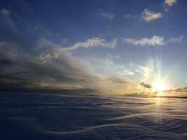 Sea of snow by Werwal