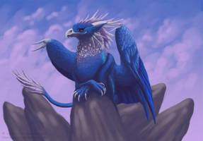 Leundra: Griffon by Werwal