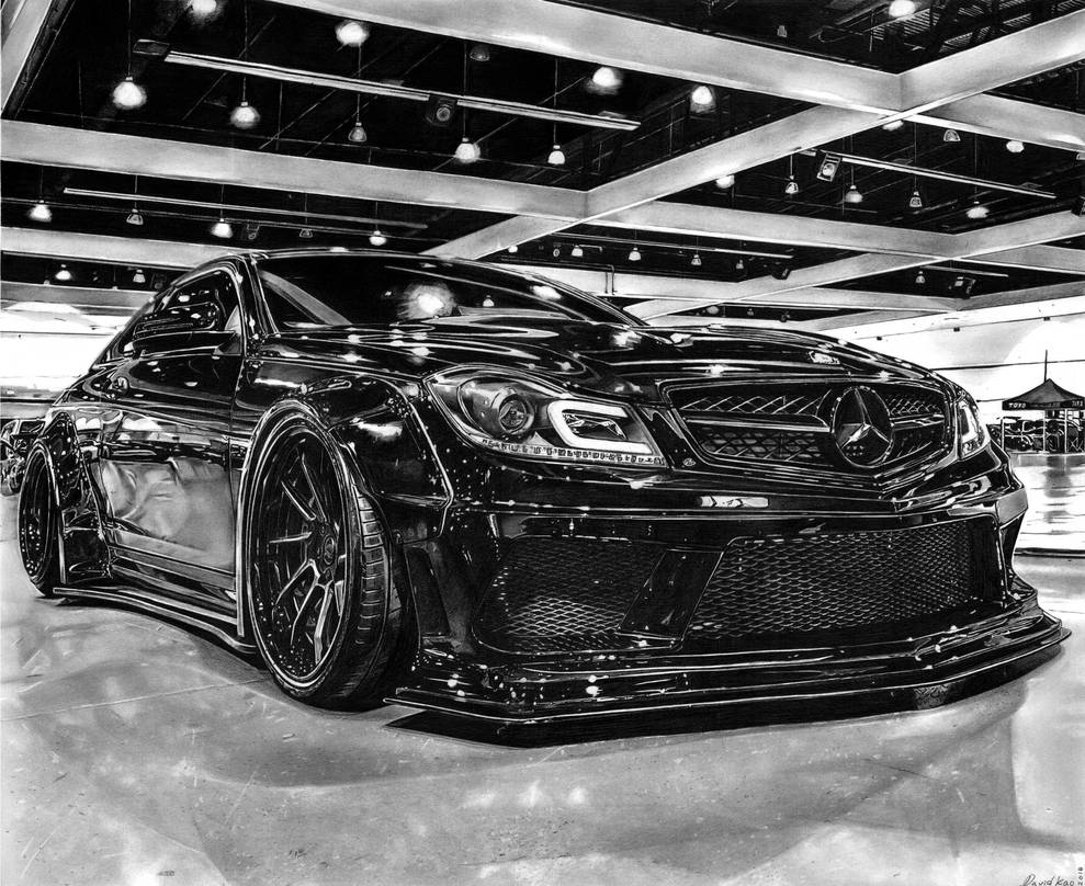Mercedes Benz C63 AMG Liberty Walk Widebody by david10072