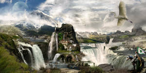 Castle Falls by whisperingsmith