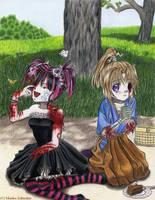 Zombie Picnic by Kikane