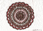 New Year's Mandala by thecharmedmuse