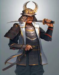 Tokugawa Ieyasu by JOEIAN