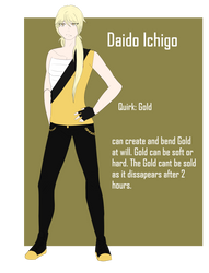 BNHA OC- Daido Ichigo by Chin-Kouhai