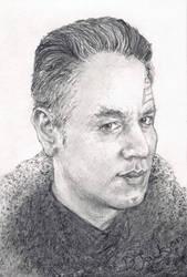Sketchcard - Chakotay by Dkelabirath