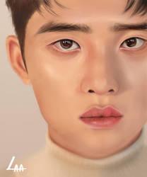 kyungsoo  by Narcifus
