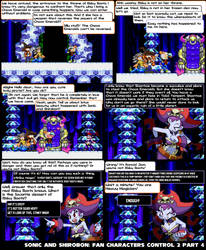 Sonic and Shirobon- Fan Characters Control 2 P4 by raulhedgebomber