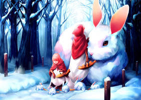 Rabbits of Winteria by 89pixels