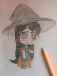 .:Jinx the Star Witch Art Trade:. by XxMaxxiTategamixX