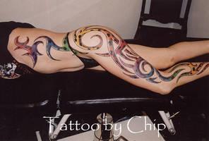 Lady Bug Tribal by tattooedone