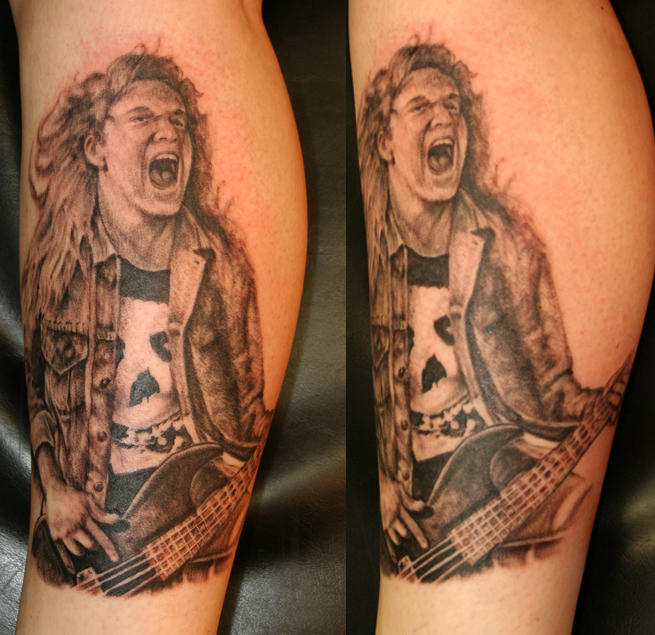 Cliff Burton By Tattooedone On Deviantart