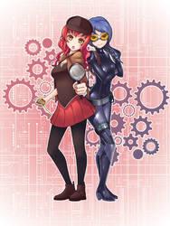 Sora + Mimi by Kusotoko