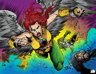 Hawkgirl by andressabraga