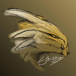 Dragon Sketch by Sitious