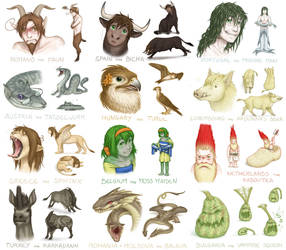Brewing Trouble Character Study 2 by Birvan